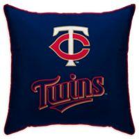 MLB Minnesota Twins Logo Throw Pillow