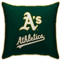 MLB Oakland Athletics Logo Throw Pillow