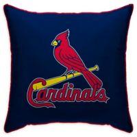 MLB St. Louis Cardinals Logo Throw Pillow