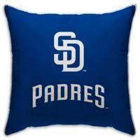 MLB San Diego Padres Logo Throw Pillow