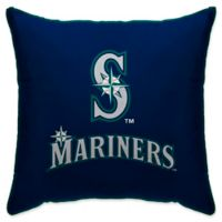 MLB Seattle Mariners Logo Throw Pillow