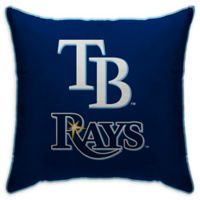 MLB Tampa Bay Rays Logo Throw Pillow