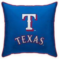 MLB Texas Rangers Logo Throw Pillow