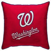 MLB Washington Nationals Logo Throw Pillow