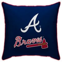 MLB Atlanta Braves Logo Throw Pillow