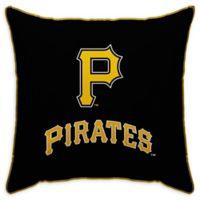 MLB Pittsburgh Pirates Logo Throw Pillow