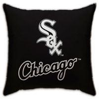 MLB Chicago White Sox Logo Throw Pillow