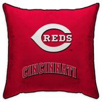 MLB Cincinnati Reds Logo Throw Pillow