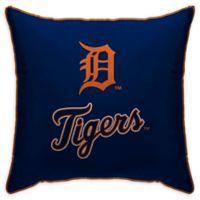 MLB Detroit Tigers Logo Throw Pillow