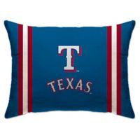 MLB Texas Rangers Bed Pillow