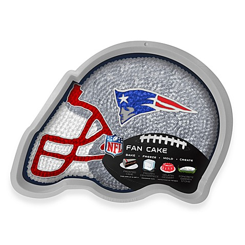 NFL New England Patriots Fan Cake Silicone Cake Pan
