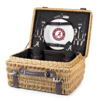 University of Alabama Champion Picnic Basket with Service for 2 in Black