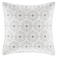 Stone Cottage Bee Medallion Square Throw Pillow in Natural