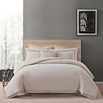 Charisma Luxe Cotton Linen King 3 Piece Comforter Set in Tan