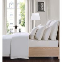 Charisma Luxe Cotton Linen King 4 Piece Sheet Set in Ivory