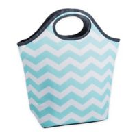Fit & Fresh® Burlingame Chevron Neoprene Lunch Bag in Mint
