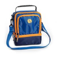Fit & Fresh® The Sport Insulated Dual Compartment Lunch Bag in Blue