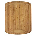 "Totally Bamboo ""Carver"" Extra Large Bamboo Cutting/Serving Board"