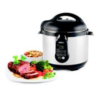 Salton Stainless Steel 5-In-1 Electronic Pressure Cooker