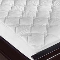 Puredown Diamond Quilted King Mattress Pad in White
