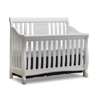 Sorelle Montgomery 4-in-1 Convertible Crib in White