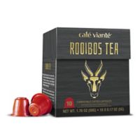 Café Viante® 10-Count Rooibos Tea Nespresso® Compatible Tea Capsules