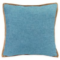 Bahama Decorative Pillow in Turquoise
