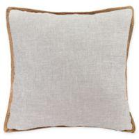 Bahama Decorative Pillow in Light Grey