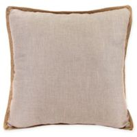 Bahama Decorative Pillow in Taupe