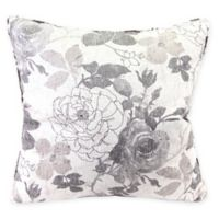 Mademoiselle 26-Inch Square Throw Pillow in Marble