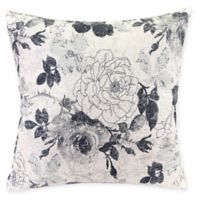 Mademoiselle 26-Inch Square Throw Pillow in Icicle