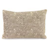 Ashani 15-Inch x 20-Inch Decorative Pillow in Cobblestone