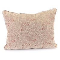 Ashani 15-Inch x 20-Inch Decorative Pillow in Rose