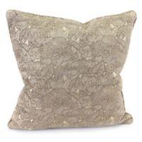 Ashani 20-Inch Decorative Pillow in Cobblestone