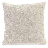 Ashani 20-Inch Decorative Pillow in Silver