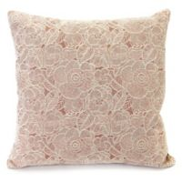 Ashani 20-Inch Decorative Pillow in Rose