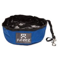 FUR-EEZ Portable Pet Bowl in Blue