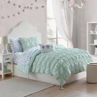 Tegan 2-Piece Twin Comforter Set in Mint