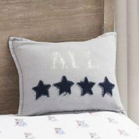 Bridgeport All-Star Oblong Throw Pillow in Grey