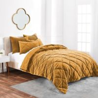 Buy Velvet Quilts Bed Bath And Beyond Canada