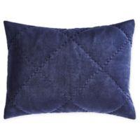 Peyton Standard Pillow Sham in Navy