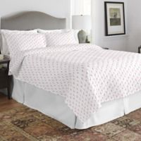 Pointehaven Flamingo Twin/Twin XL Quilt Set in Orange/Pink