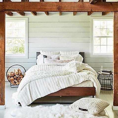 Ugg 174 Alpine Faux Fur Duvet Cover Set Bed Bath Amp Beyond