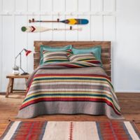Pendleton® Mineral Umber Yamika Camp Twin Quilt in Grey