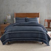 Pendleton® Ryer Stripe Twin Quilt in Navy