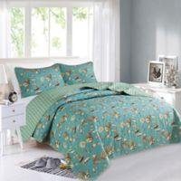 Great Bay Home Seychelles Reversible King Quilt Set