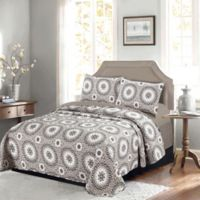 Gala Twin Quilt in Grey