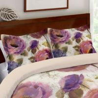 Laural Home® Flower Song Standard Pillow Sham in Purple