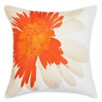 Trina Turk® Palm Desert Embroidered Soft Daisy Square Throw Pillow