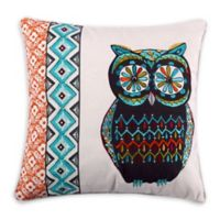 Levtex Home Phoenix Owl Embroidered Throw Pillow